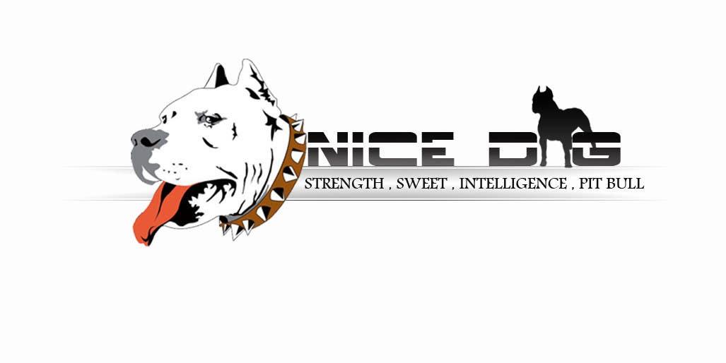 Kilpailutyö #42 kilpailussa Logo image for Pit Bull dog brand