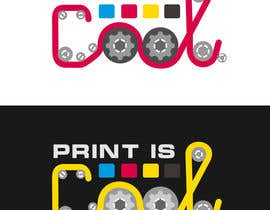 "nº 23 pour Logo for a blog ""print is cool"" par phanex"