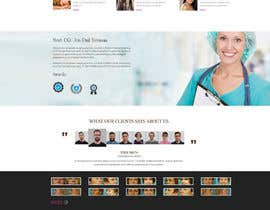 #21 untuk Design a Website Mockup for aesthetic surgery oleh Skitters
