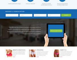 #32 untuk Design a Website Mockup for aesthetic surgery oleh Skitters