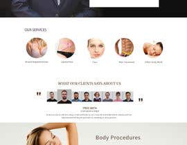 #34 for Design a Website Mockup for aesthetic surgery by Skitters