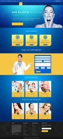 logodesire tarafından Design a Website Mockup for aesthetic surgery için no 10