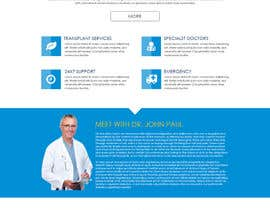 #31 untuk Design a Website Mockup for aesthetic surgery oleh suranjan89