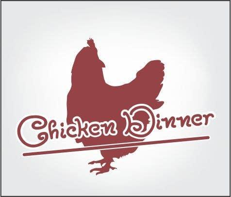 Konkurrenceindlæg #                                        12                                      for                                         Embroidered Logo/Badge for Cap - Chicken Dinner