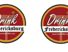 #126 untuk Design a Logo for Drink Fredericksburg, an entertainment website oleh jackmillen92