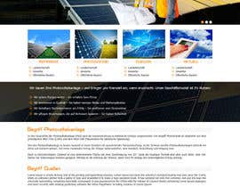 #15 para webdesign for photovoltaic company por princevenkat