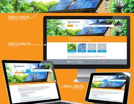 #7 para webdesign for photovoltaic company por FacelessFox