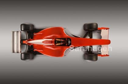 #22 untuk Need TOP view image of Formula 1 Racing Car oleh Saranageh90
