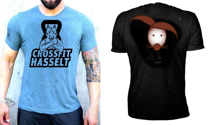 Konkurrenceindlæg #120 for Ontwerp een T-shirt for Crossfit Hasselt