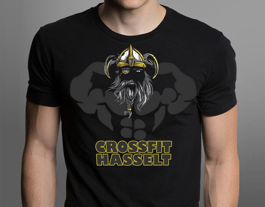 Kilpailutyö #46 kilpailussa Ontwerp een T-shirt for Crossfit Hasselt