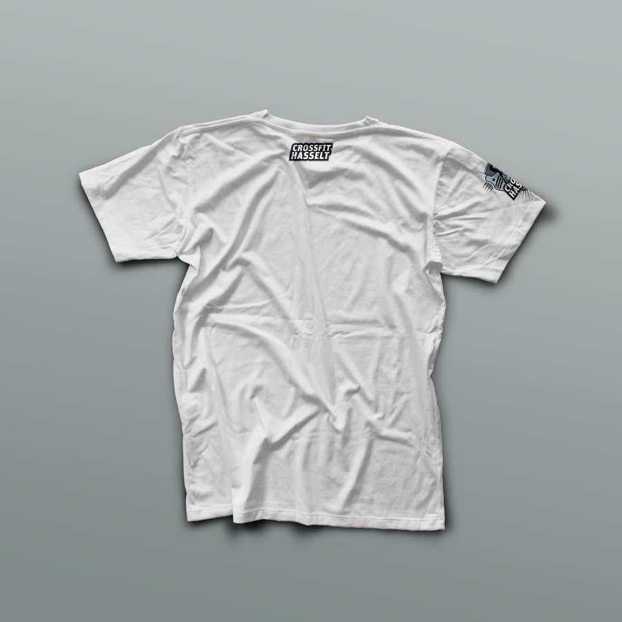 Konkurrenceindlæg #85 for Ontwerp een T-shirt for Crossfit Hasselt