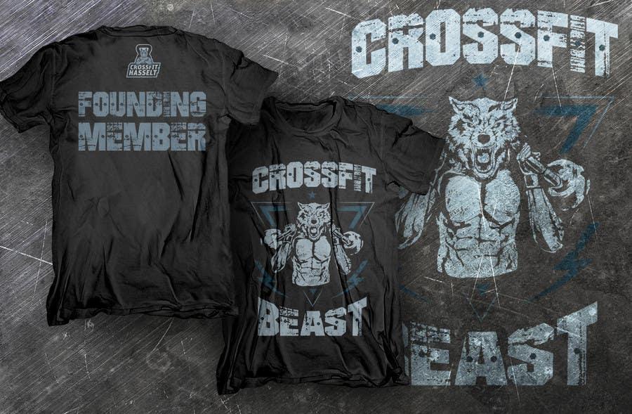Bài tham dự cuộc thi #11 cho Ontwerp een T-shirt for Crossfit Hasselt founding members