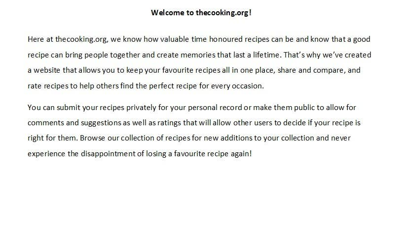 Proposition n°26 du concours Content Writing for http://thecooking.org