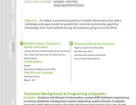 Nro 36 kilpailuun design Infographic CV käyttäjältä bha4