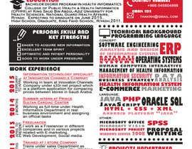 Nro 41 kilpailuun design Infographic CV käyttäjältä zohaairshad
