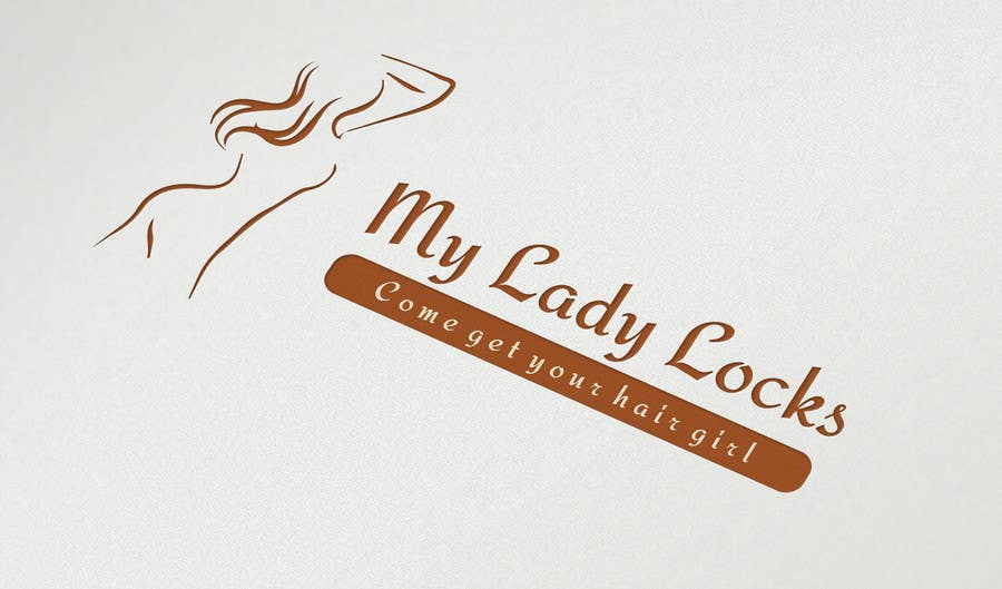 Contest Entry #                                        4                                      for                                         MyLadyLocks Logo