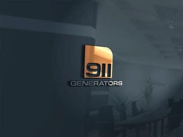 Nro 31 kilpailuun Design a Logo for 911 Generators käyttäjältä thelionstuidos