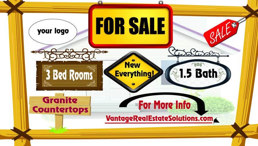 Konkurrenceindlæg #2 for Design a For Sale sign