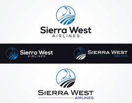 #114 para Design a Logo for Sierra West Airlines por NomanMaknojia