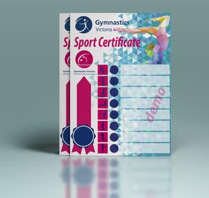 #9 for Design a Sport Certificate af zbigniew72