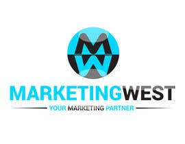 nº 25 pour Design a Logo for MarketingWest par MridhaRupok