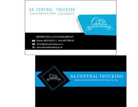 #6 untuk Design a letterhead and business cards for a trucking company oleh Arindam1995