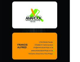 #7 untuk Design a letterhead and business cards for a painting and renovation company oleh thoughtcafe