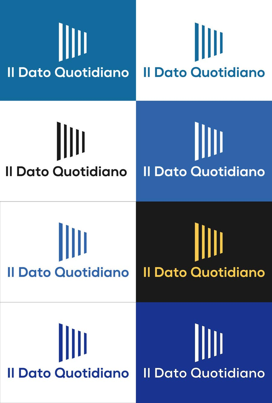 Konkurrenceindlæg #30 for Data Journalism site logo - Il Dato Quotidiano