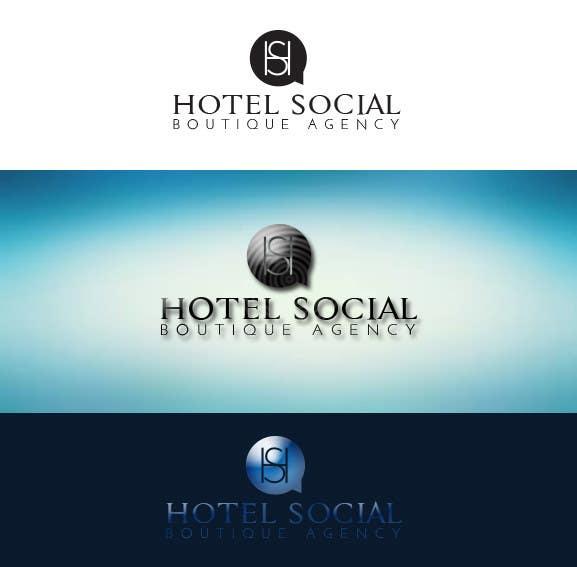 Inscrição nº 9 do Concurso para Design a Logo for Hotel Social Media Agency