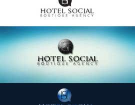 #9 para Design a Logo for Hotel Social Media Agency por sandrasreckovic