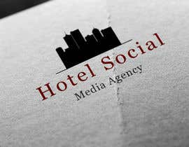 #3 para Design a Logo for Hotel Social Media Agency por mohmaedessam