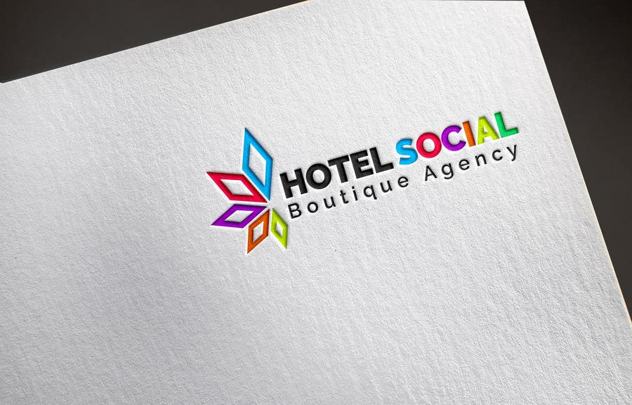 Inscrição nº                                         1                                      do Concurso para                                         Design a Logo for Hotel Social Media Agency