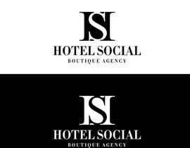 #34 untuk Design a Logo for Hotel Social Media Agency oleh asanka10