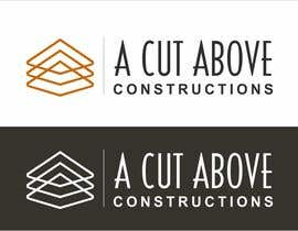 #2 cho Design a NEW LOGO for A Cut Above Constructions bởi creazinedesign