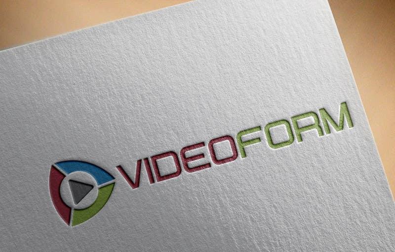 Kilpailutyö #24 kilpailussa Design a Logo for VIDEOFORM
