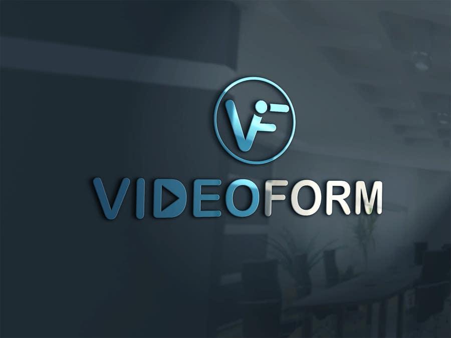 Kilpailutyö #136 kilpailussa Design a Logo for VIDEOFORM