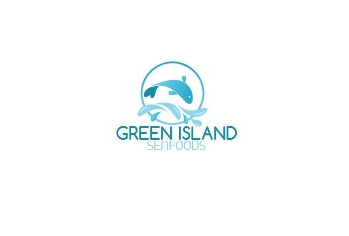 Konkurrenceindlæg #                                        49                                      for                                         Design a Logo for Green Island Seafoods