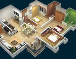 ARMAANJEE tarafından Design a floor plan for a house i am planning to build. için no 4