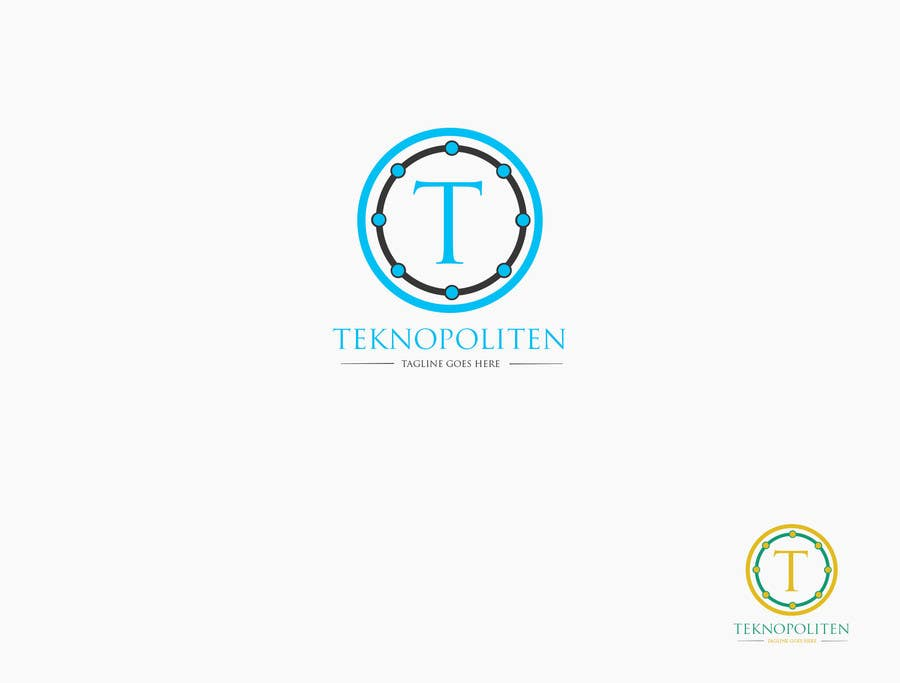 Contest Entry #                                        43                                      for                                         Design a Logo for teknopoliten