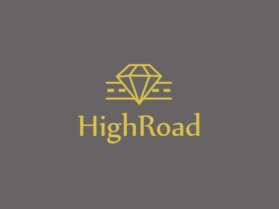 """Konkurrenceindlæg #47 for Logo for a luxe jewelry brand """"High Road"""""""
