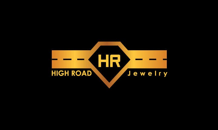 """Konkurrenceindlæg #42 for Logo for a luxe jewelry brand """"High Road"""""""