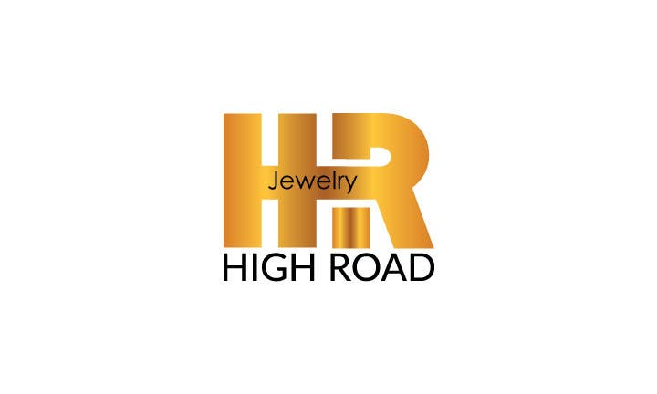"Konkurrenceindlæg #67 for Logo for a luxe jewelry brand ""High Road"""