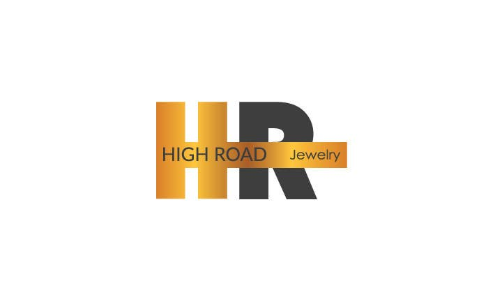 "Konkurrenceindlæg #68 for Logo for a luxe jewelry brand ""High Road"""