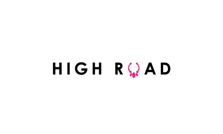 """Konkurrenceindlæg #77 for Logo for a luxe jewelry brand """"High Road"""""""