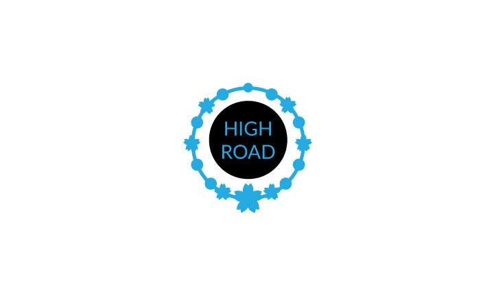 """Konkurrenceindlæg #78 for Logo for a luxe jewelry brand """"High Road"""""""