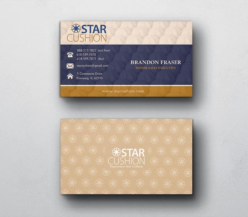 Penyertaan Peraduan #113 untuk Design some Business Cards for Star Cushion