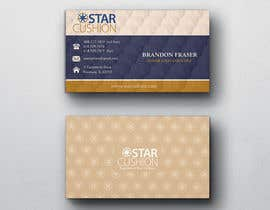 #113 para Design some Business Cards for Star Cushion por peerage