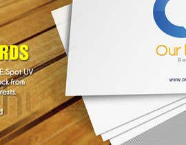 #13 untuk Design a Banner for the sale of: postcards & flyers.... oleh jannie