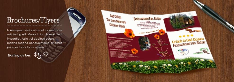 Penyertaan Peraduan #20 untuk Design a Banner for the sale of: postcards & flyers....