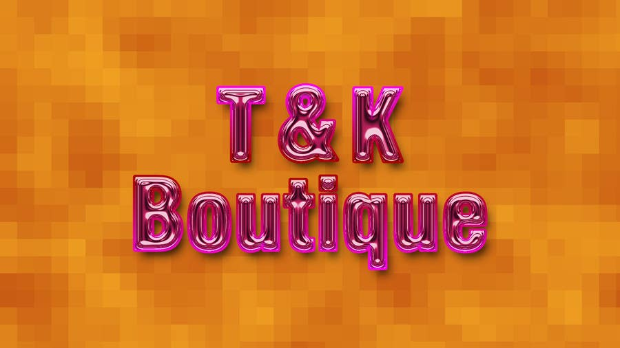 Contest Entry #                                        22                                      for                                         Design a Logo for T&K Boutique